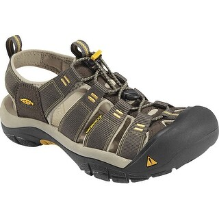 Keen Newport H2 Men Sandal,Water Shoe, Raven/Aluminum