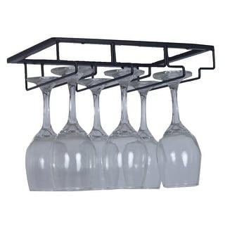 Link to 2PK Single Rail Wine Glass Stemware Rack Holder Under Cabinet Similar Items in Glasses & Barware