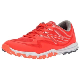 New Balance Women S Minimus Sport Spikeless Mesh Golf Shoe Coral