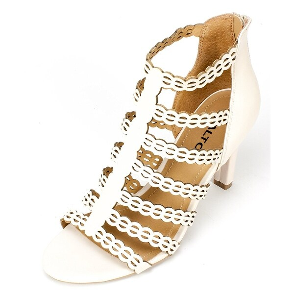 Rialto Womens Roma Open Toe Casual Strappy Sandals