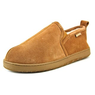 Northside Hartford Men Round Toe Suede Tan Slipper