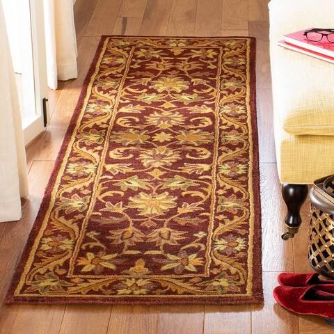 SAFAVIEH Handmade Antiquity Manerva Traditional Oriental Wool Rug