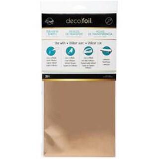 "Rose Gold - Deco Foil Transfer Sheet 6""X12"" 20/Pkg"