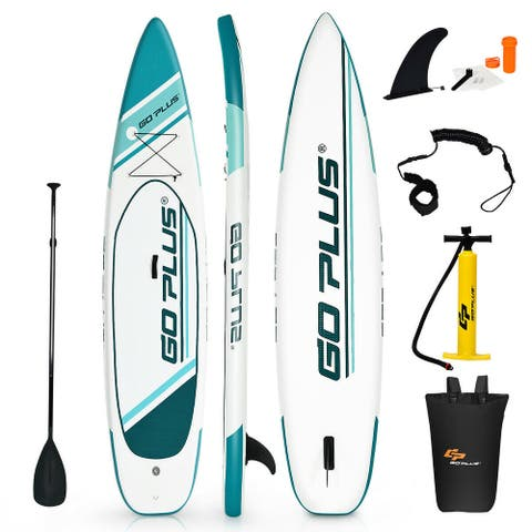 Goplus 11' Inflatable Stand up Paddle Board Surfboard Water Sport All