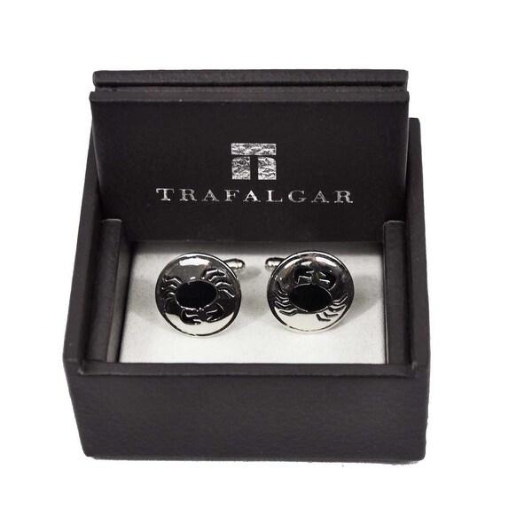 Trafalgar Craby Cuff Links Silver