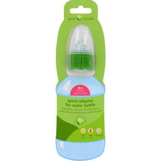Green Sprouts Water Bottle Cap Adapter, Toddler 6 to 24 Months - 1 ct