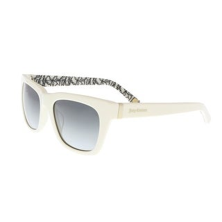 Juicy Couture - Juicy 585/S 0FMZ White Rectangle Sunglasses
