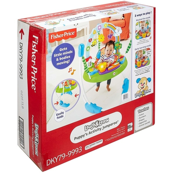 Fisher-Price Laugh /& Learn Puppys Activity Jumperoo
