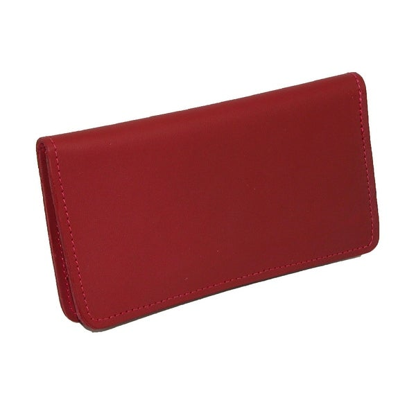 CTM® Leather Checkbook Cover - One size