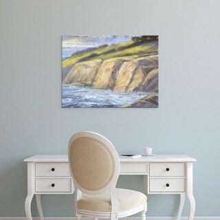 Easy Art Prints H. Thomas's 'Rocky Coast II' Premium Canvas Art