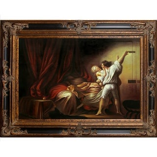 Jean-Honore Fragonard 'The Bolt c. 1778' Hand Painted Oil Reproduction