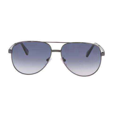 Ermenegildo Zegna EZ0027/S 20B Grey Aviator Sunglasses - 60-14-145