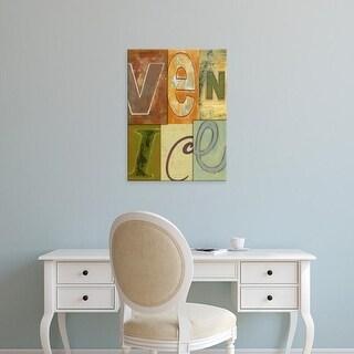 Easy Art Prints Vision Studio's 'Venice' Premium Canvas Art