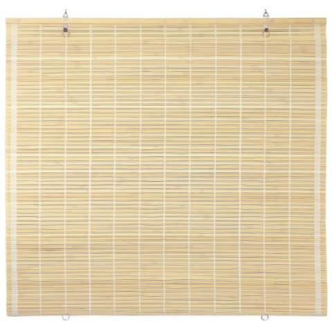 Bamboo Cordless Window Shade - Natural