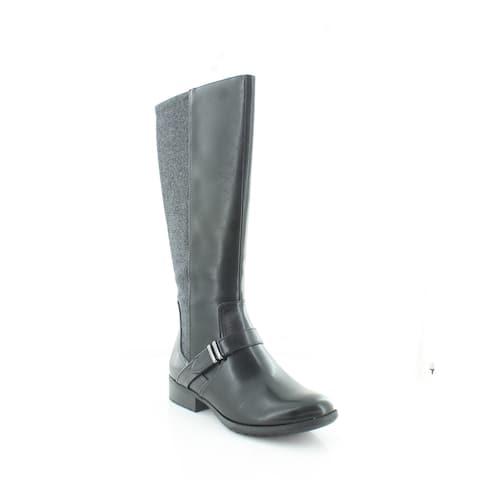 LifeStride Xtra Women's Boots Black Texas