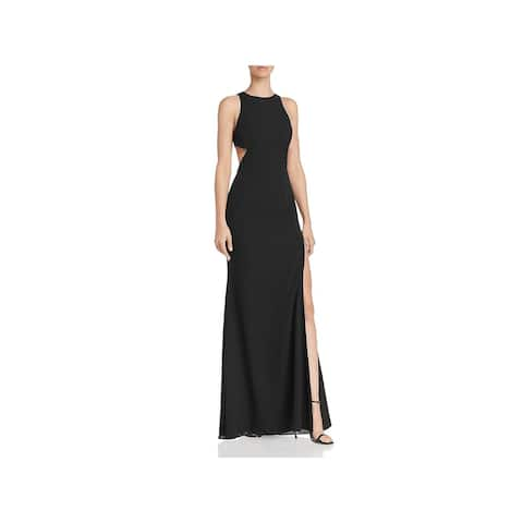 Fame And Partners Womens Midheaven Evening Dress Sleeveless Cut-Out