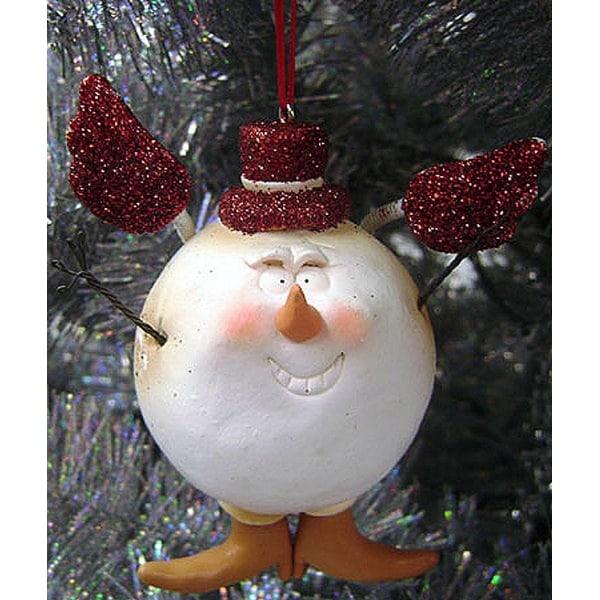 Snowballz Impish Claydough Snowball Christmas Ornament #23702