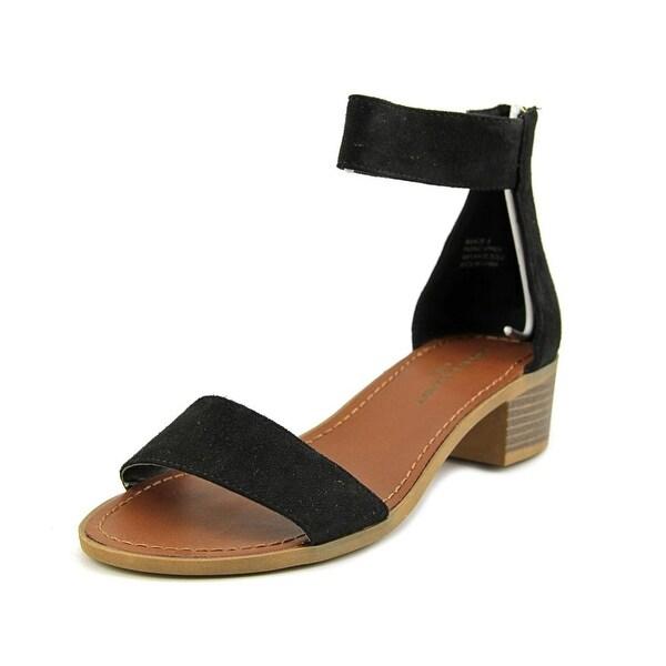 Rock & Candy Nancie Women Open Toe Synthetic Black Sandals
