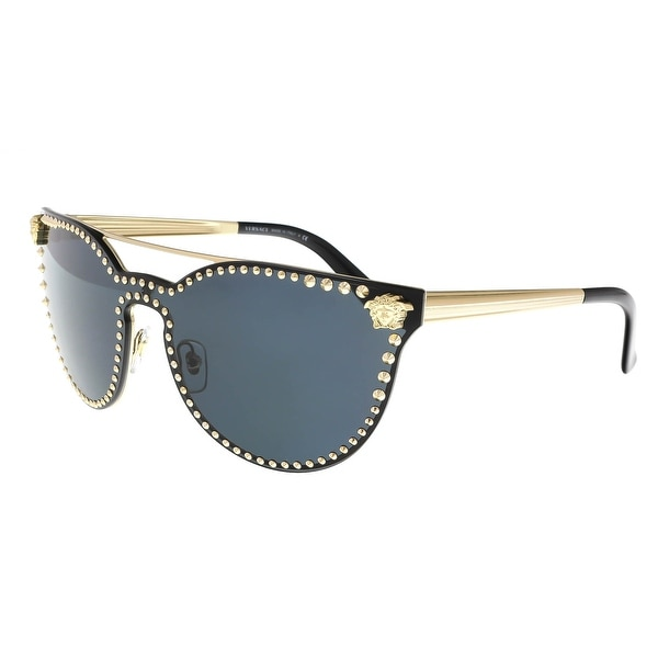 9a168054ca6 Versace VE2177 125287 Black Cat Eye Sunglasses - 45-16-140. Click to Zoom