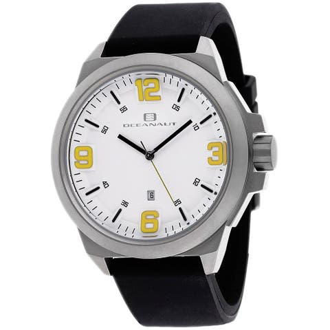Oceanaut Men's Armada OC7118 White Dial Watch