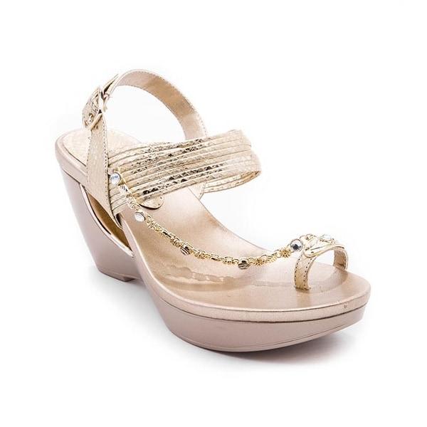 Andrew Geller ARRIANA Women's Sandals & Flip Flops Gold
