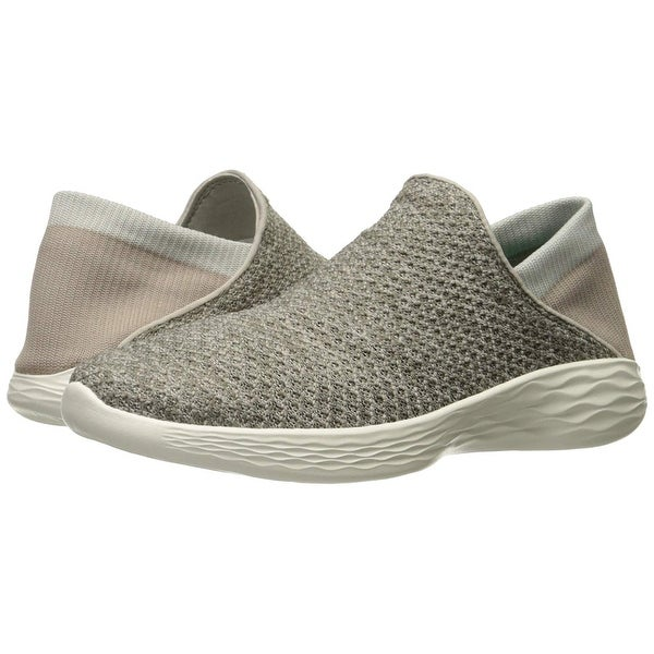 Shop Skechers Women's You Movement Slip On Shoe,Taupe,8 M Us