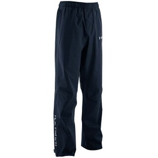 Huk Men's Performance Packable X-Large Navy Packable Fishing Rain Pants
