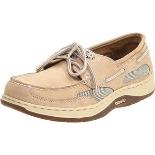 Sebago Mens Clovehitch II Leather Slip On Boat Shoes