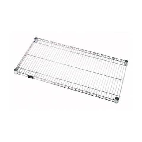 """Offex Stainless Steel Wire Shelf - 21""""W x 72""""L"""