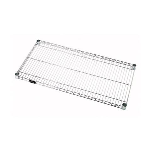 """Offex Stainless Steel Wire Shelf - 24""""W x 24""""L"""