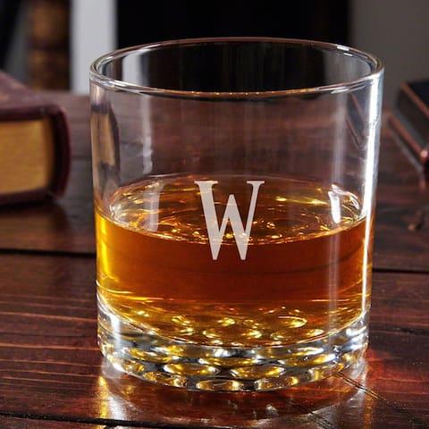 Buckman Personalized Old Fashioned Glass