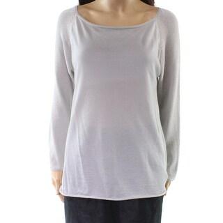 Fabiana Filippi Gray Women's Size Medium M Knit Top Cashmere