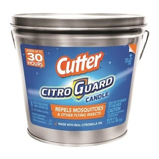 Cutter HG-96384 Citro Guard Candle Bucket, 17 Oz