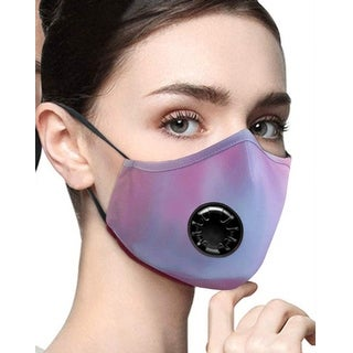 Link to Cali Chic Reusable Breathable Face Mask Cover Washable Purple Blue Tie Dye Ships from USA - Multi-Color - one size Similar Items in Scarves & Wraps