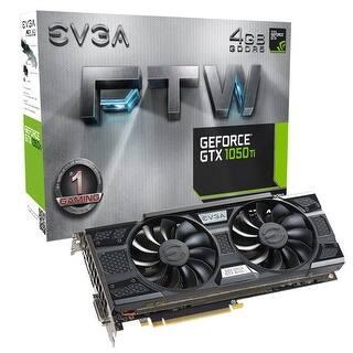 Evga - 04G-P4-6258-Kr|https://ak1.ostkcdn.com/images/products/is/images/direct/803389ade1b079dfe5c9cf7e91de96db19b5e544/Evga-Geforce-Gtx-1050-Ti-Ftw-Gaming-4Gb-128-Bit-Gddr5-Graphics-Card.jpg?impolicy=medium