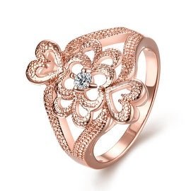 Ancient Greek Inspired Rose Gold Ring