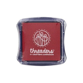 CC Threaders Fabric Ink Pad Red