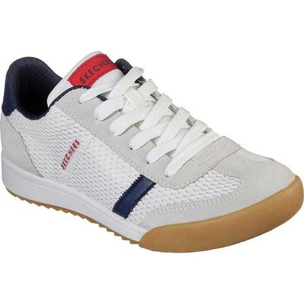 Shop Skechers Women's Zinger Mesh You Sneaker WhiteNavy