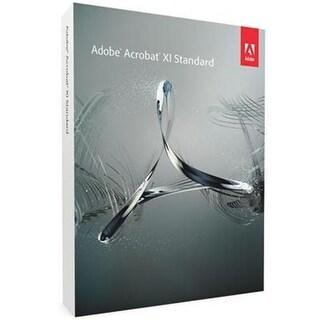 Adobe Software 65196809 Acrobat X1 Standard Windows