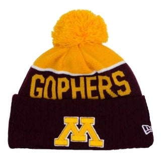 New Era Minnesota Golden Gophers Beanie Sport Knit Cap Hat NCAA 80330200