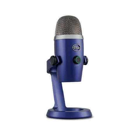 Blue Microphones Yeti Nano Premium USB Microphone (Vivid Blue)