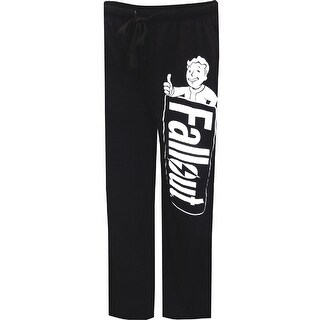 Fallout Logo Men's Black Lounge Pants