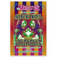 ''Albert King, 1968: Whisky-A-Go-Go, Los Angeles'' by Dennis Loren Music Art Print (19.5 x 13.25 in.)