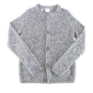 WESC NEW Men's Black Size Large L Knit Button Down Cardigan Sweater