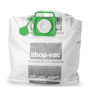 Shop-Vac 9021533 Wet/Dry Tear Resistant Collection Filter Bags, 5-10 Gallon