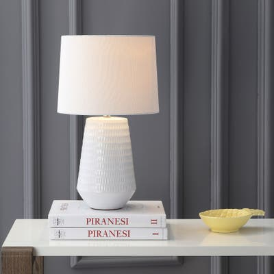"SAFAVIEH Lighting 18-inch Stark LED Table Lamp - 11""x11""x18"""