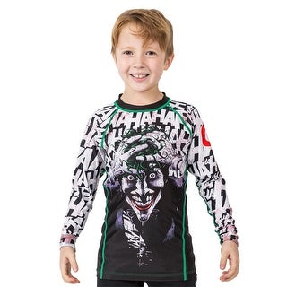 Fusion Fight Gear Kid's Batman The Killing Joke Long Sleeve Rashguard