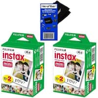 Fuji Instax Mini Instant Color Film Double Pack (2-Pack) 40 Sheets