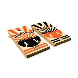 Baltimore Orioles Cornhole Board Set