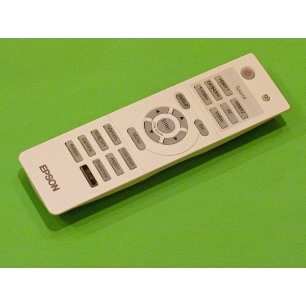 Epson Projector Remote Control: EH-TW2800, EH-TW3800